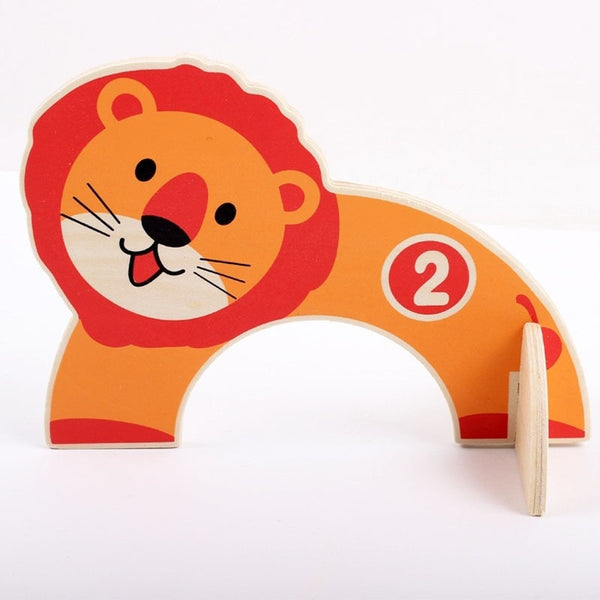 Wooden Kids Animals Gate