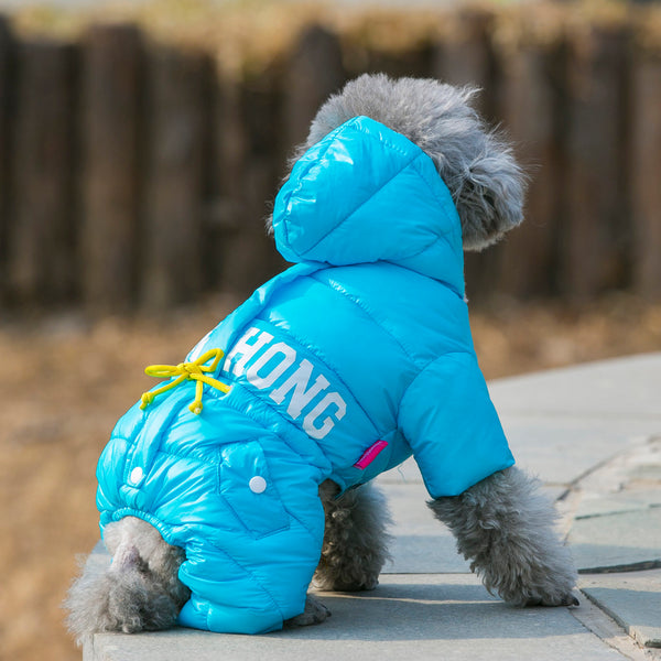 Dog Snowsuit Outfit