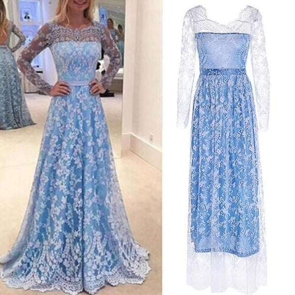 Dress Women Lace Long Sexy Dresses