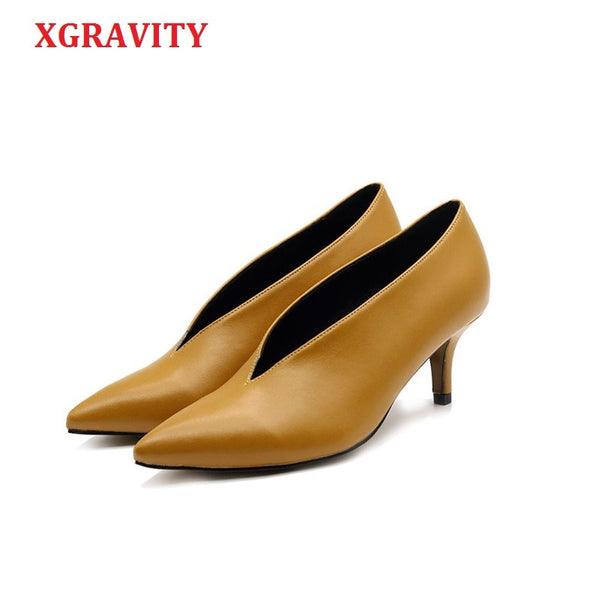 Pop Star Pointed Toe Girl Thin Heel