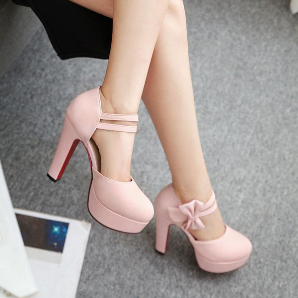 high heel spring sweet thick