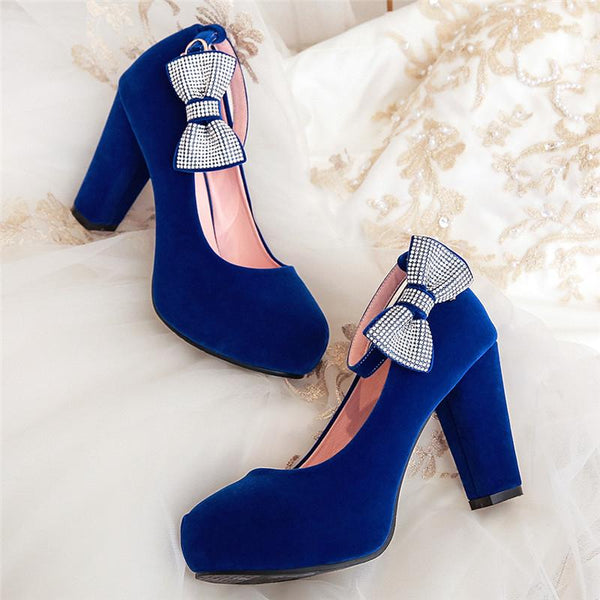 Crystal Pumps super high square