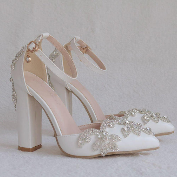 Crystal Shoes Wedding heels