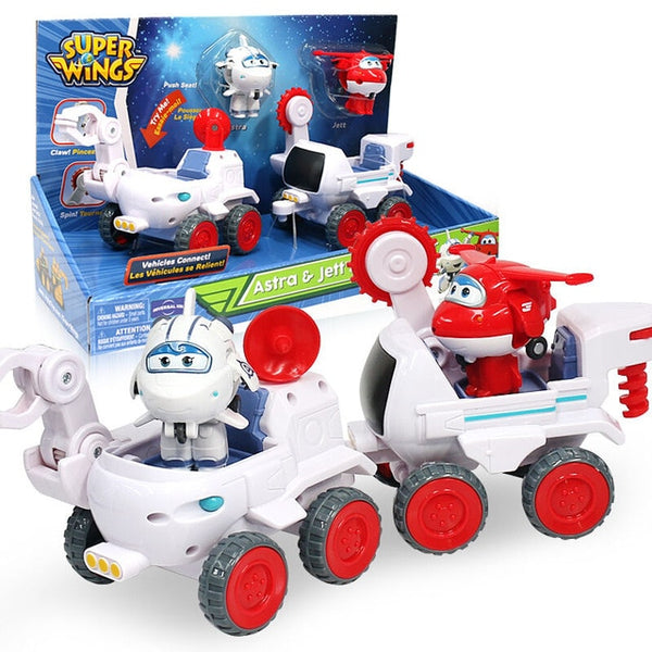 Super Wings Todd&Donnie Dig Rig Robot