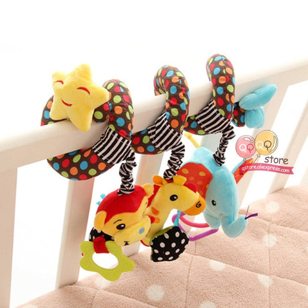 Infant Newborn Bed Animal Gift Happy Monkey