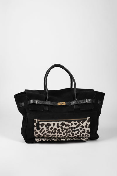 TOTE BAG BOLSILLO ANIMAL PRINT