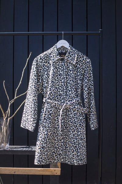 TRENCH ANIMAL PRINT