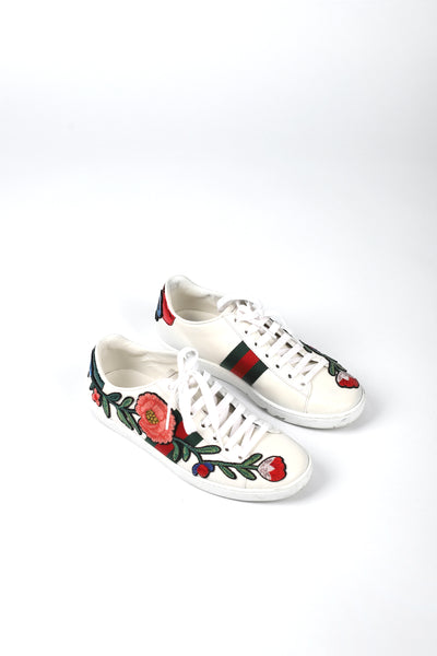 ZAPATILLAS ACE BORDADOS FLORES