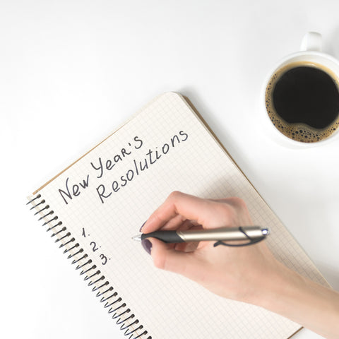 New Years Resolution Pen Pad