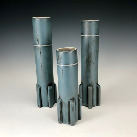 Set of 3 Bud Vases 06