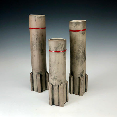 Set of 3 Bud Vases 07