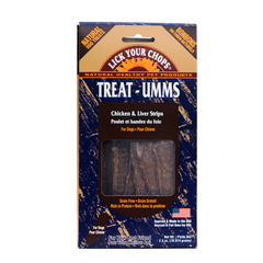 Treat-Umms Chicken Strips with Liver