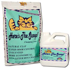Here's the Scoop! Clumping Cat Litter