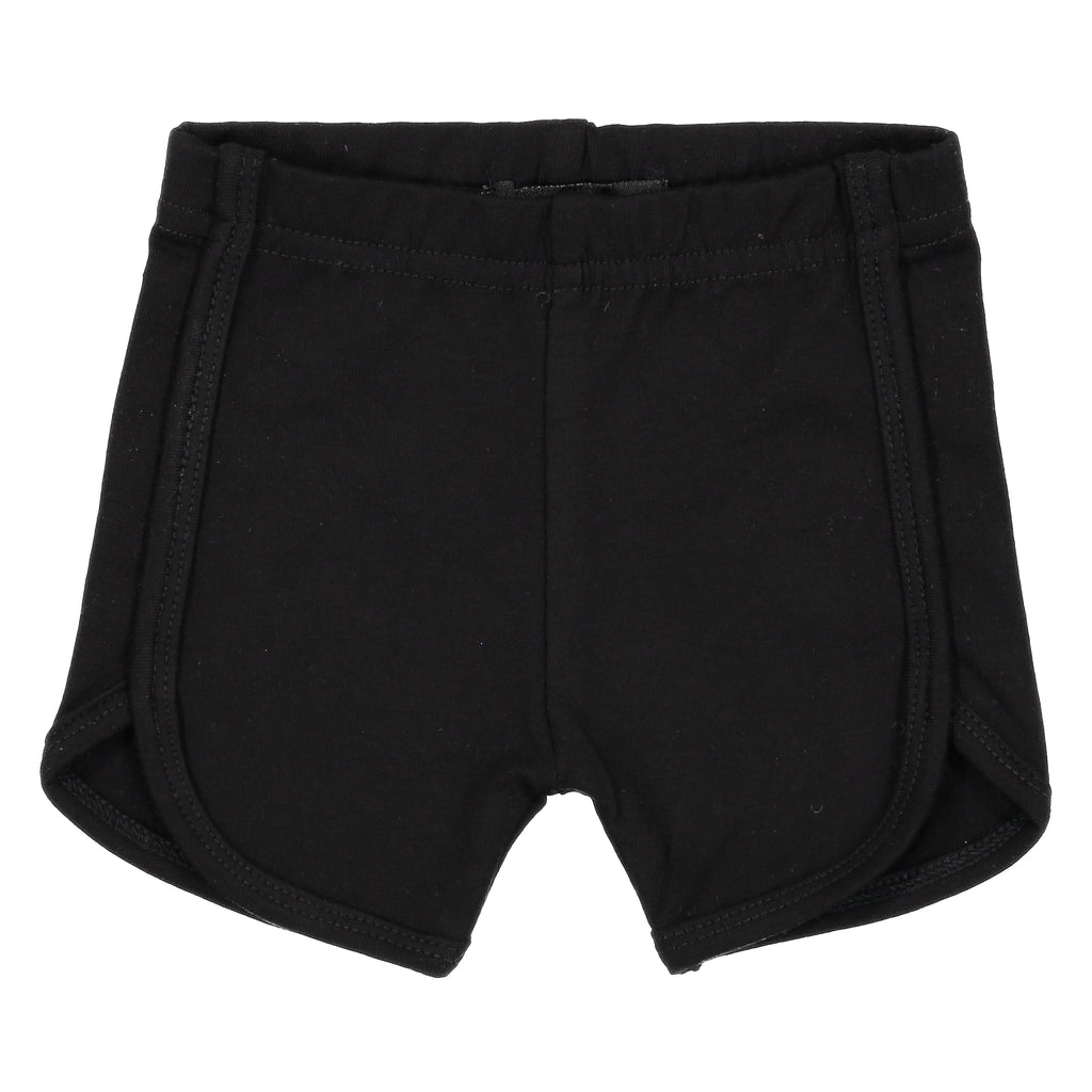 Noggi Black Sport Shorts