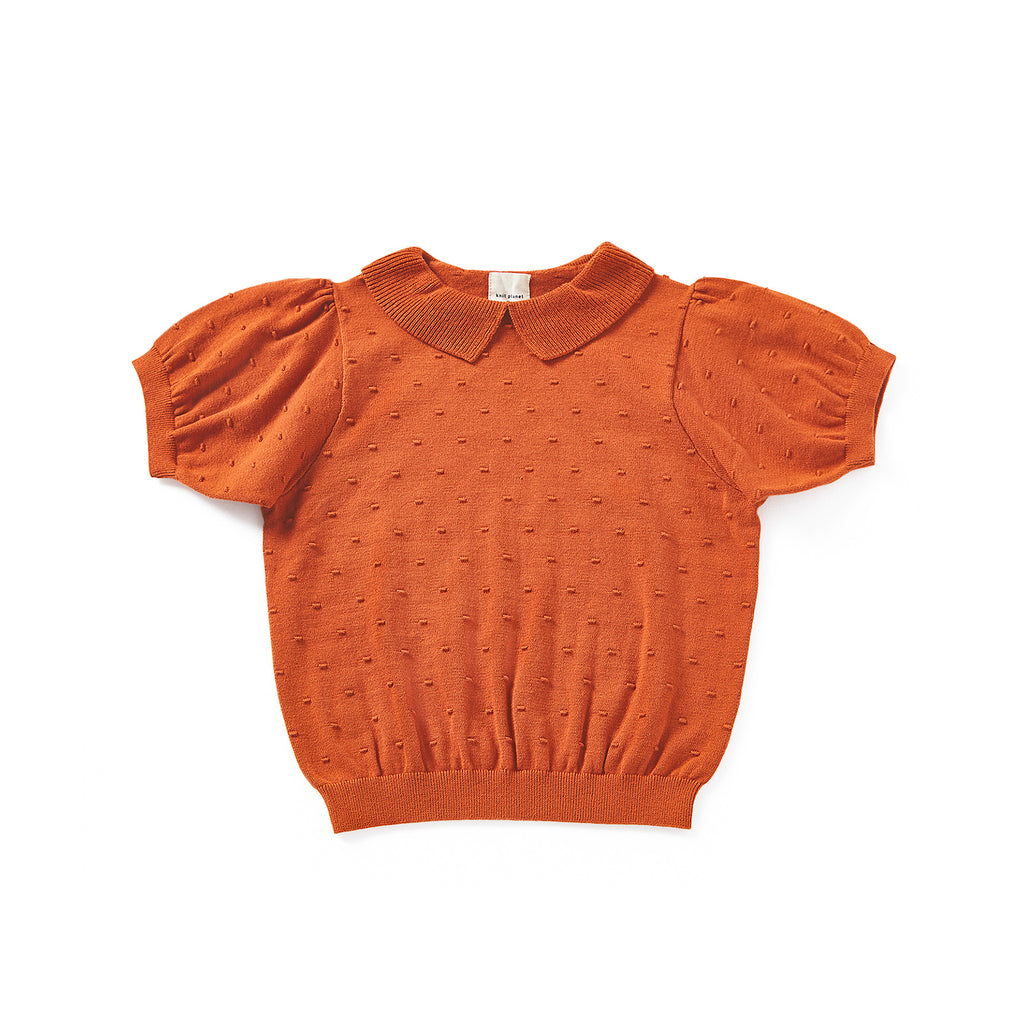 Knit Planet Caramel Seed Blouse