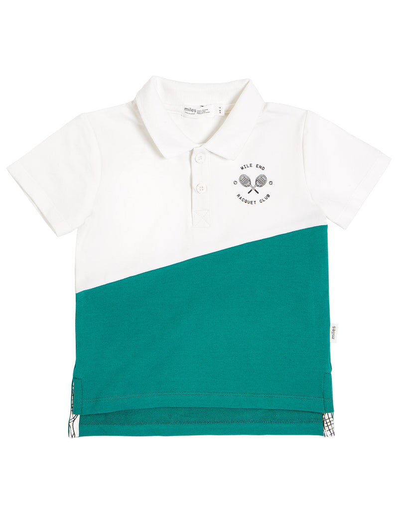 Miles Baby Racquet Club Polo Shirt
