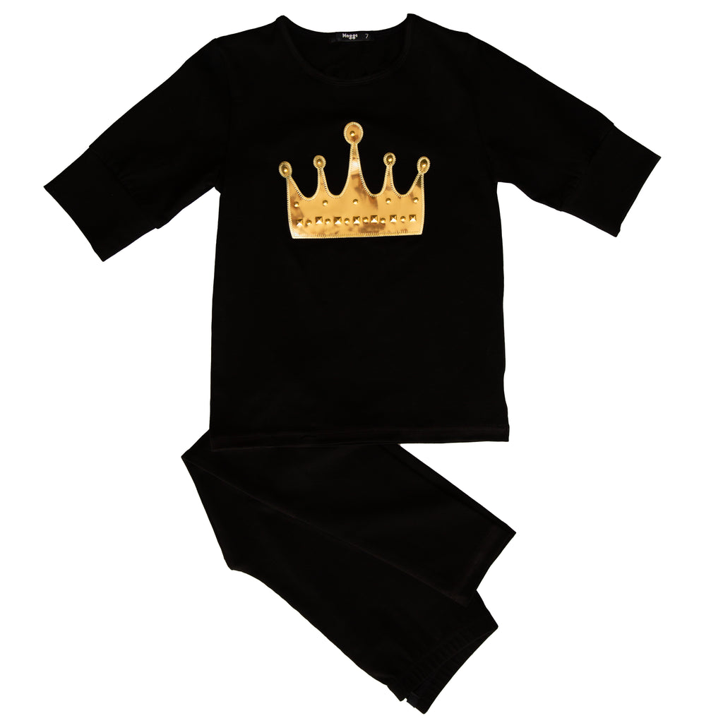Noggi Black Crown Loungewear
