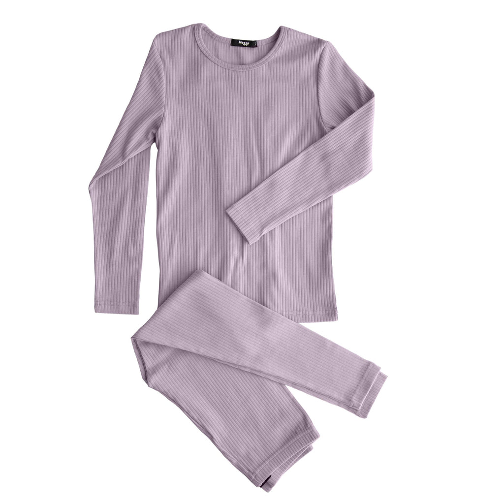 Noggi Dusty Pink Back Tie Loungewear