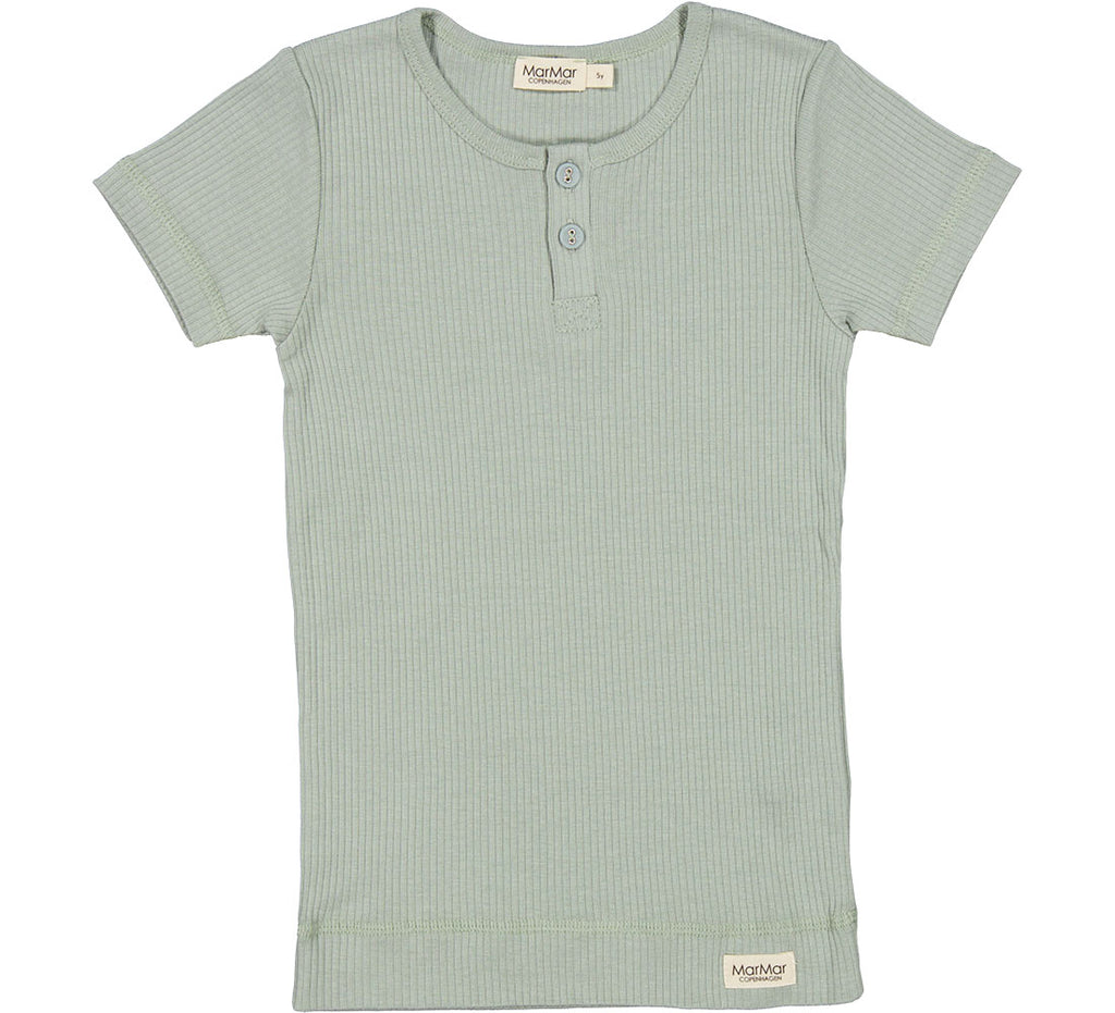 Mar Mar Sage Ribbed Short Sleeve Tshirt