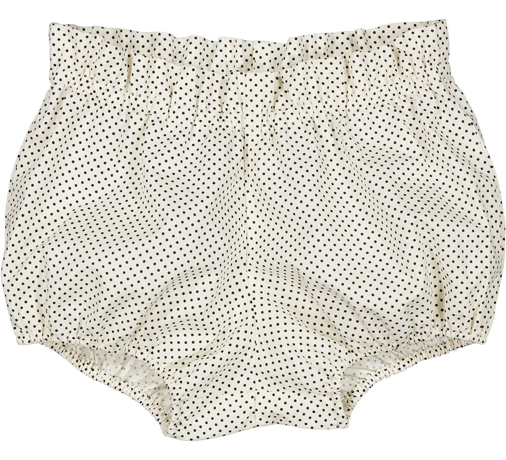 Mar Mar Off White Tiny Dot Bloomers