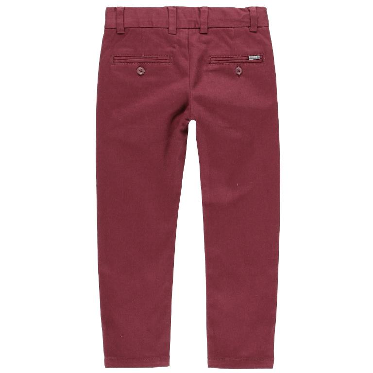 Boboli Mauve Stretch Satin Pants