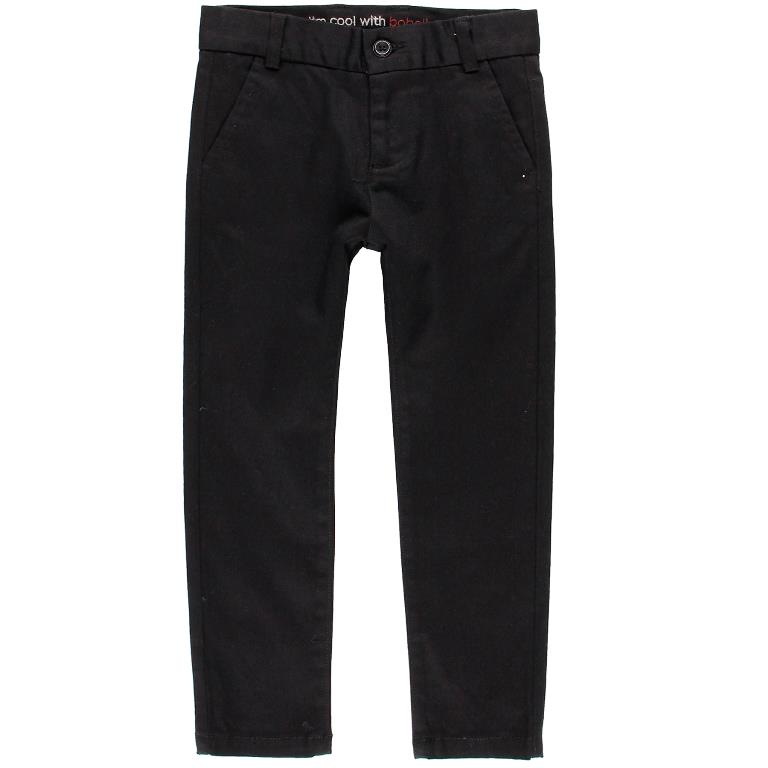 Boboli Black Stretch Satin Pants