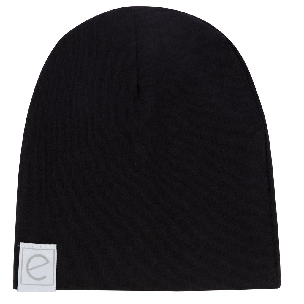 Ely's & Co Black Beanie
