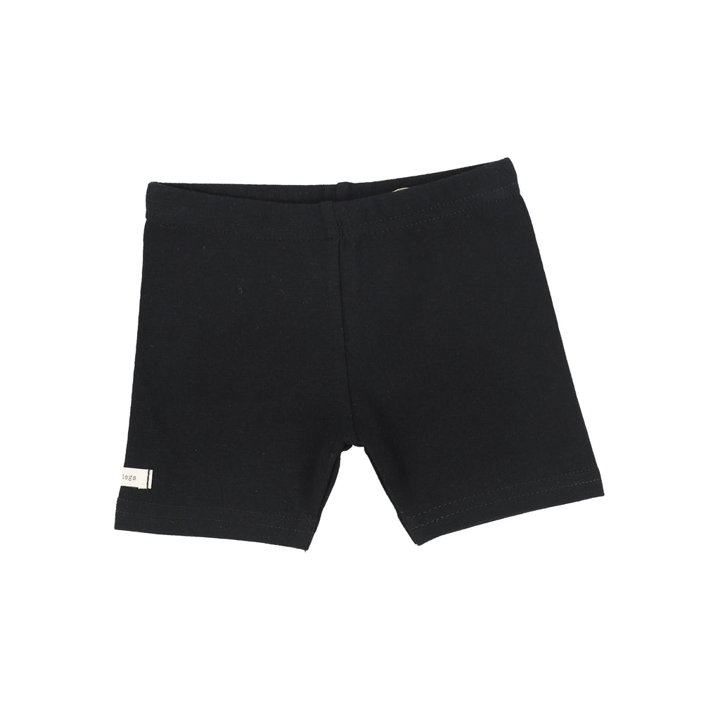 Lil Legs Black Biker Shorts