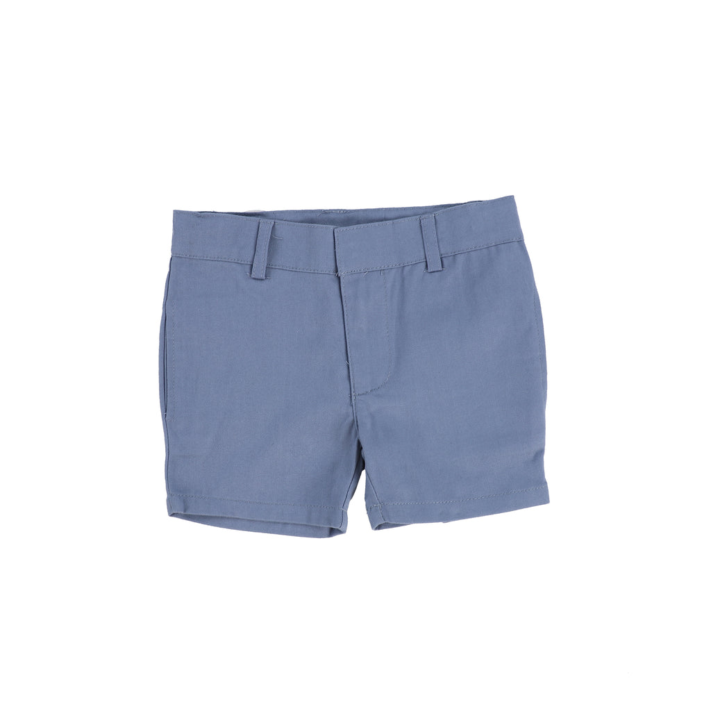 Lil Legs Blue Cotton Shorts