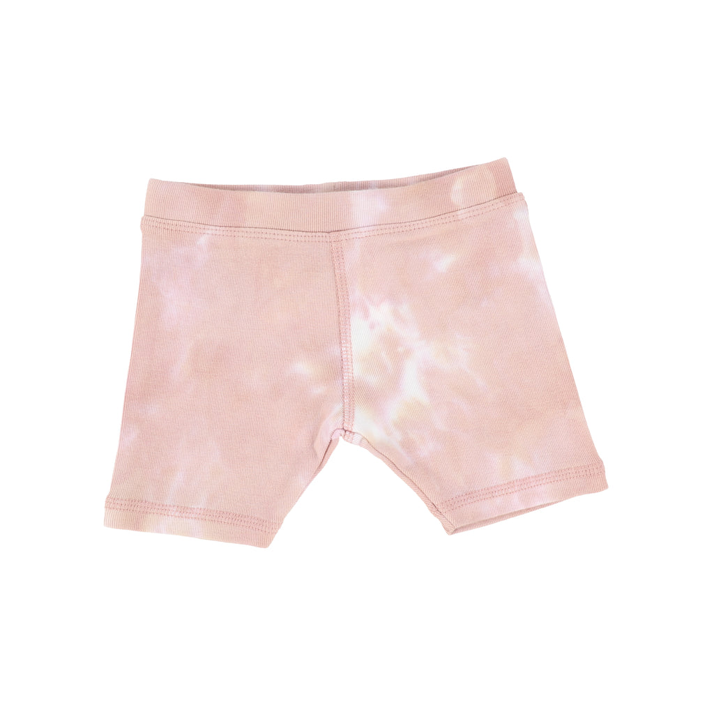 Analogie by Lil Legs Blush Watercolor Shorts