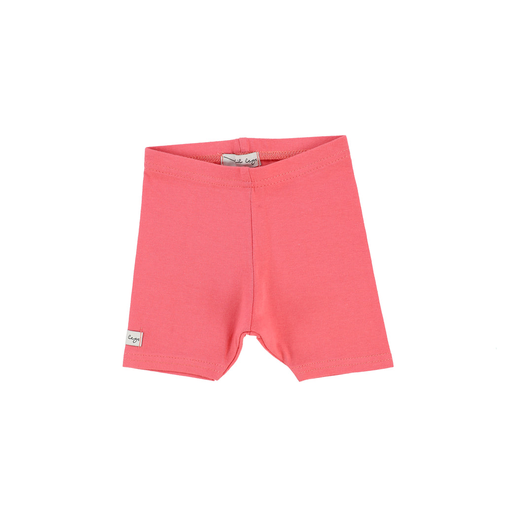 Lil Legs Coral Short Leggings