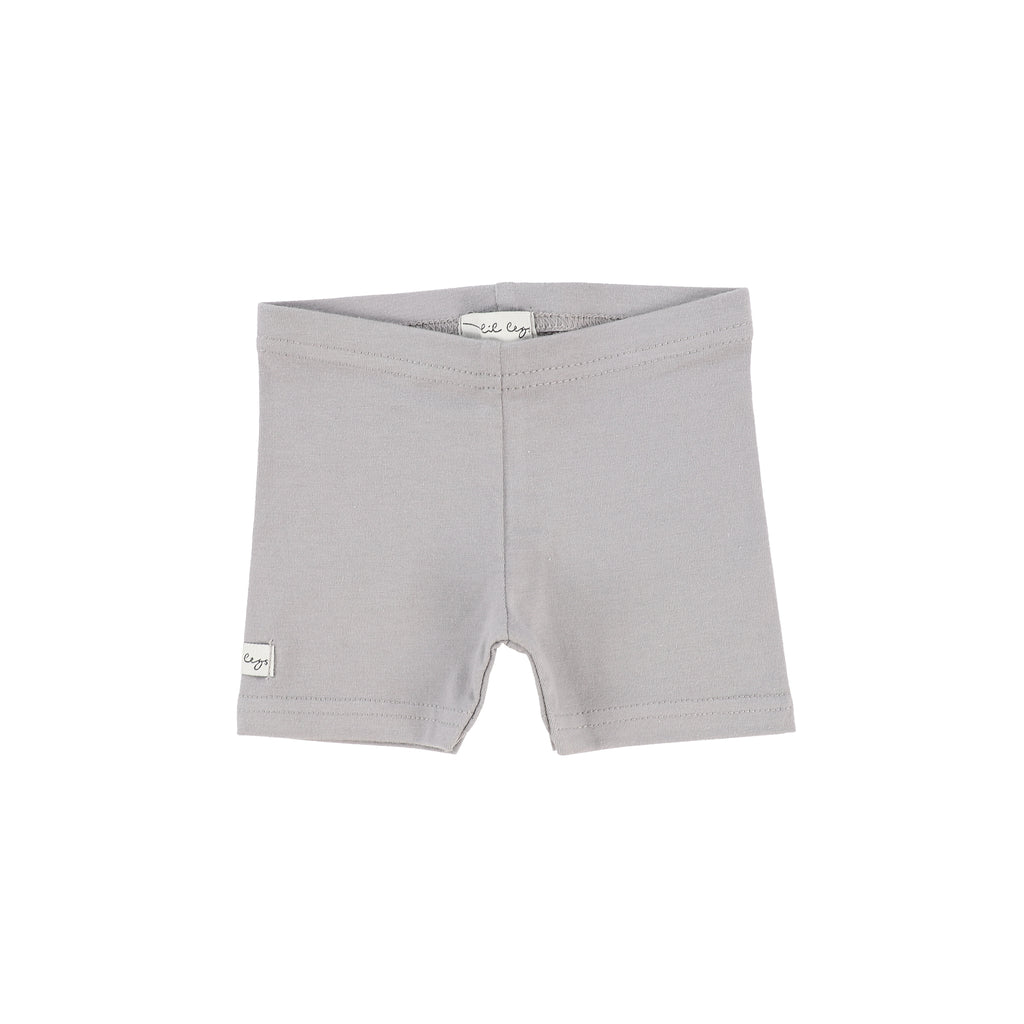 Lil Legs Dark Grey Biker Shorts
