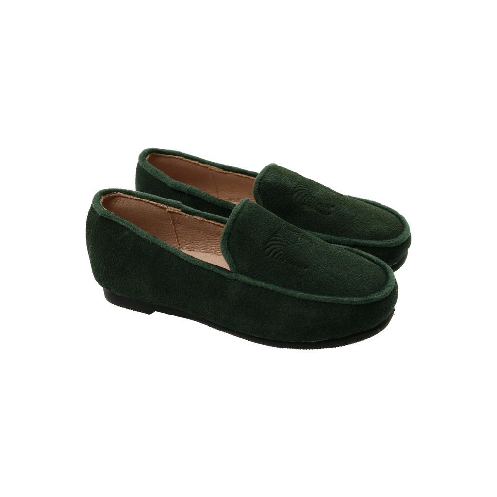 Zeebra Kids Forest Embossed Logo Loafer