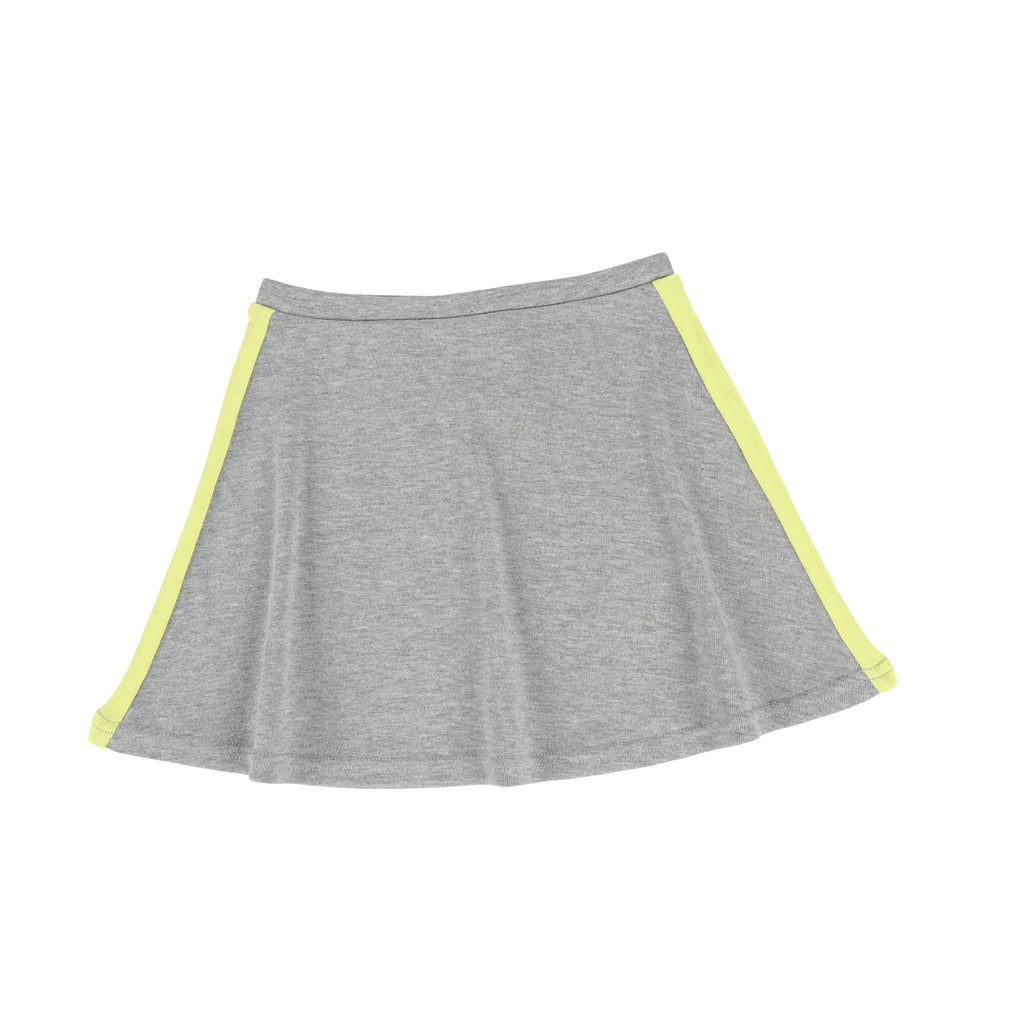 Lil Legs By Analogie Grey Neon Linear Skirt