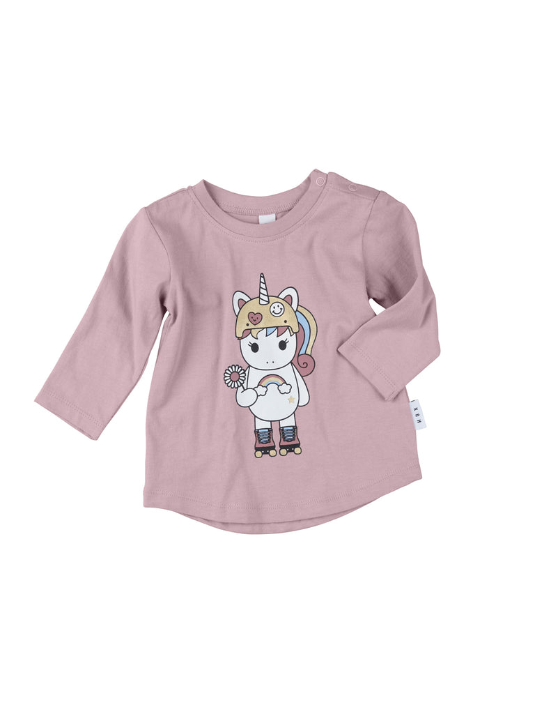 Hux Baby Unicorn Skater Top