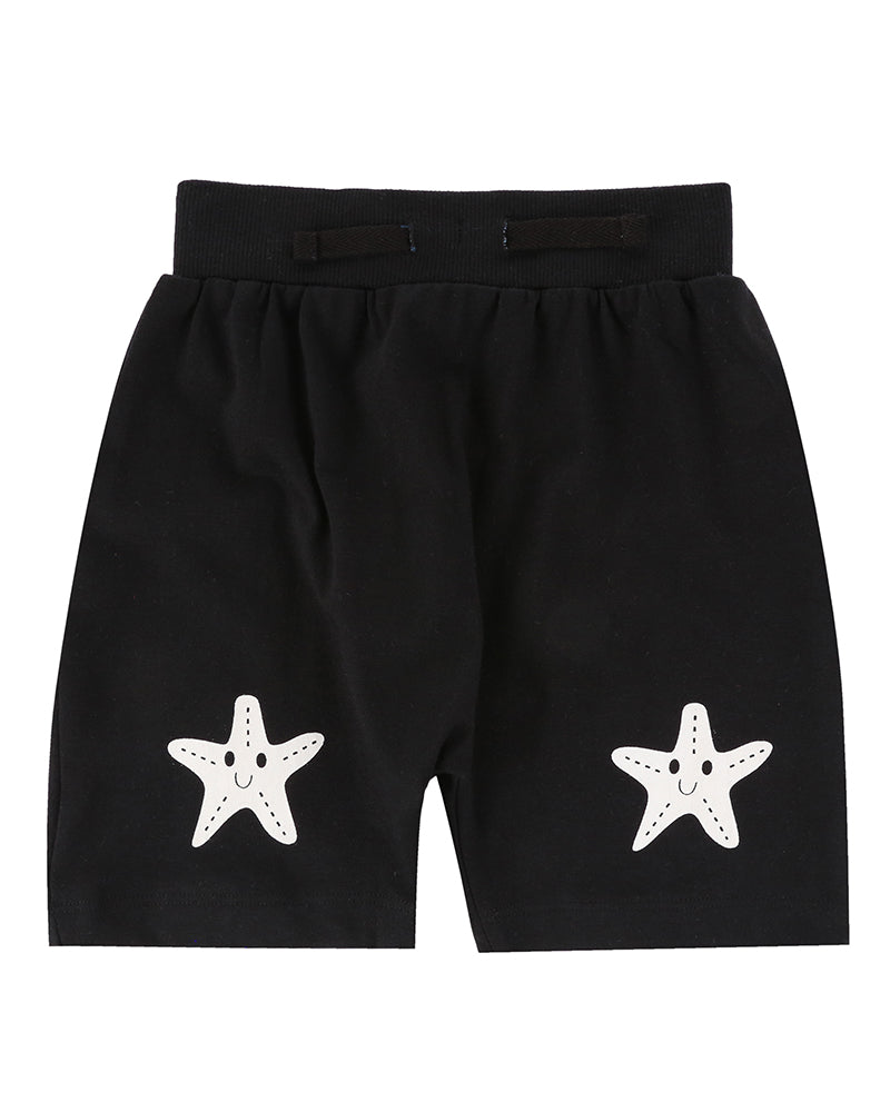 Turtledove London Starfish Knee Harem Shorts