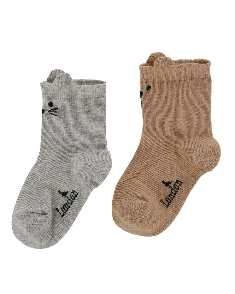 Turtledove 2 Pack Character Socks