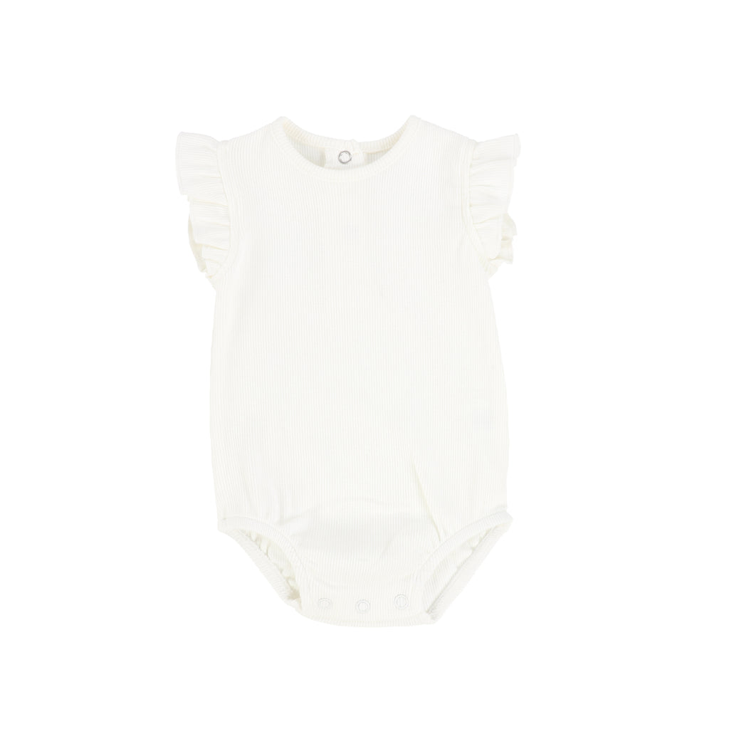 Bee & Dee Ivory Ruffle Bubble