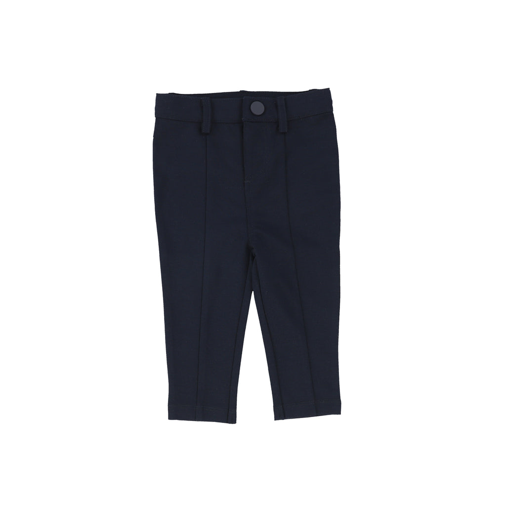 Lil Legs Navy/ Indigo Knit Pants