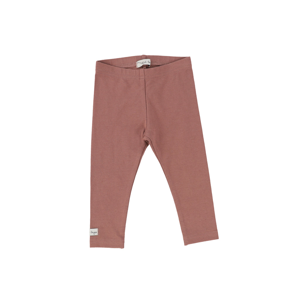 Lil Legs Dusty Rose Long Leggings