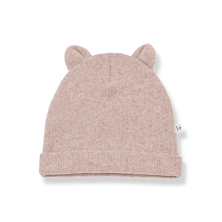 1+ In The Family Rose Beanie With Ears
