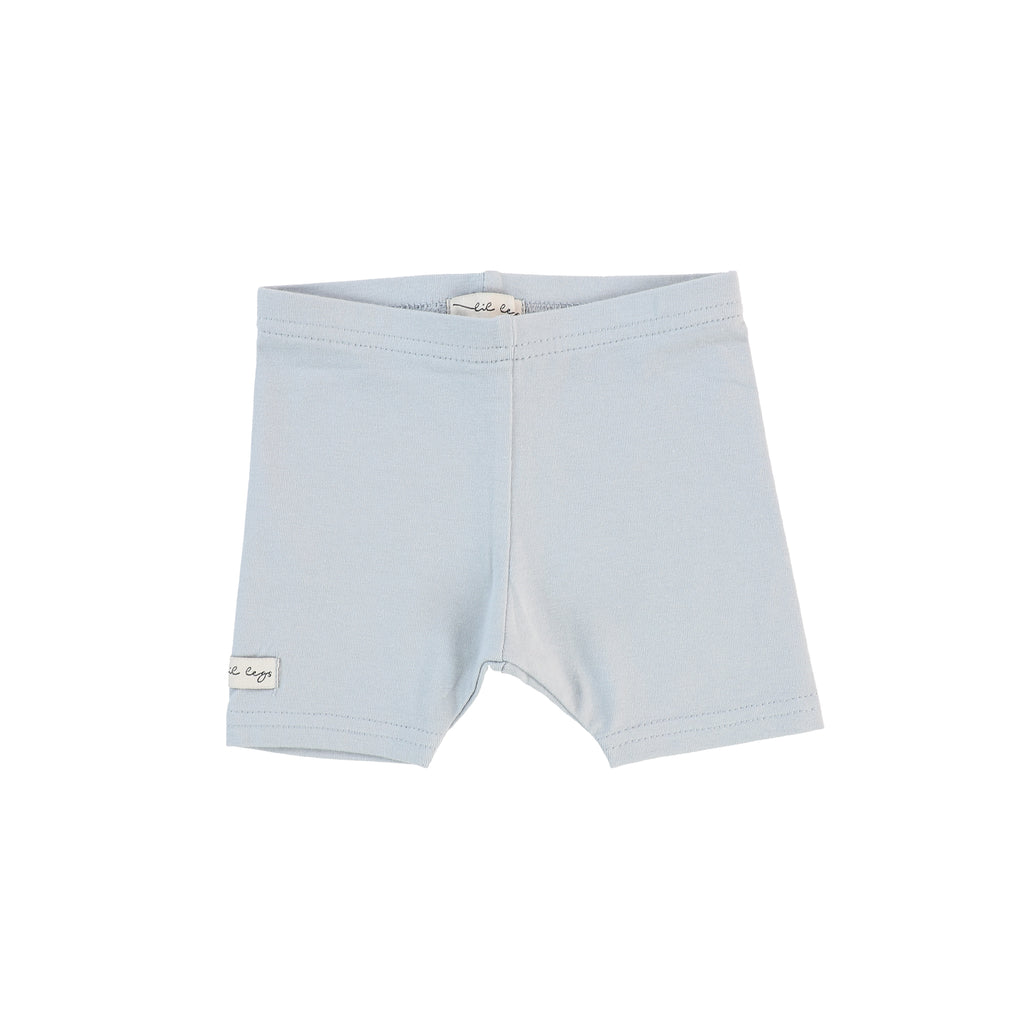 Lil Legs Powder Blue Short Leggings