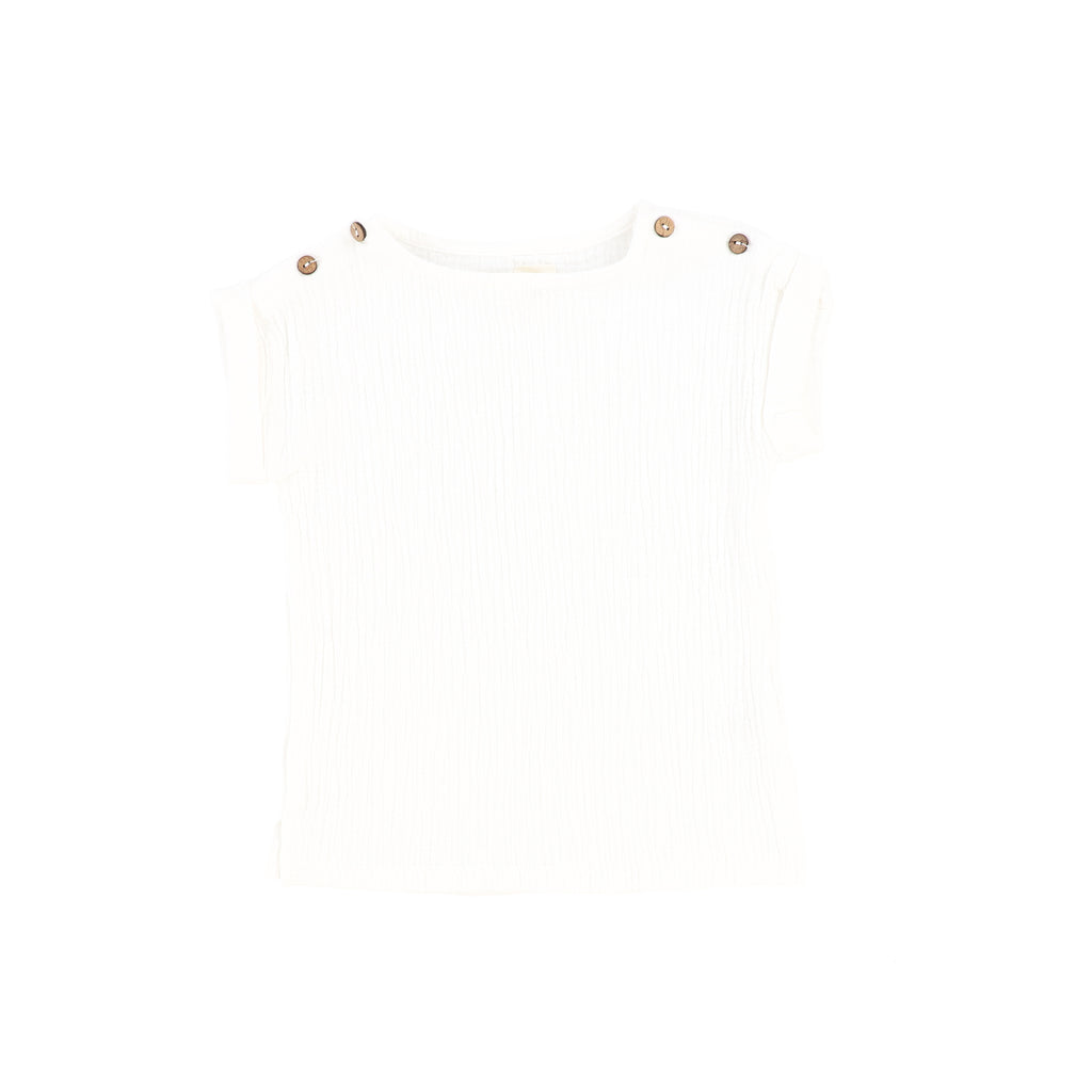 Analogie White Boxy Shirt