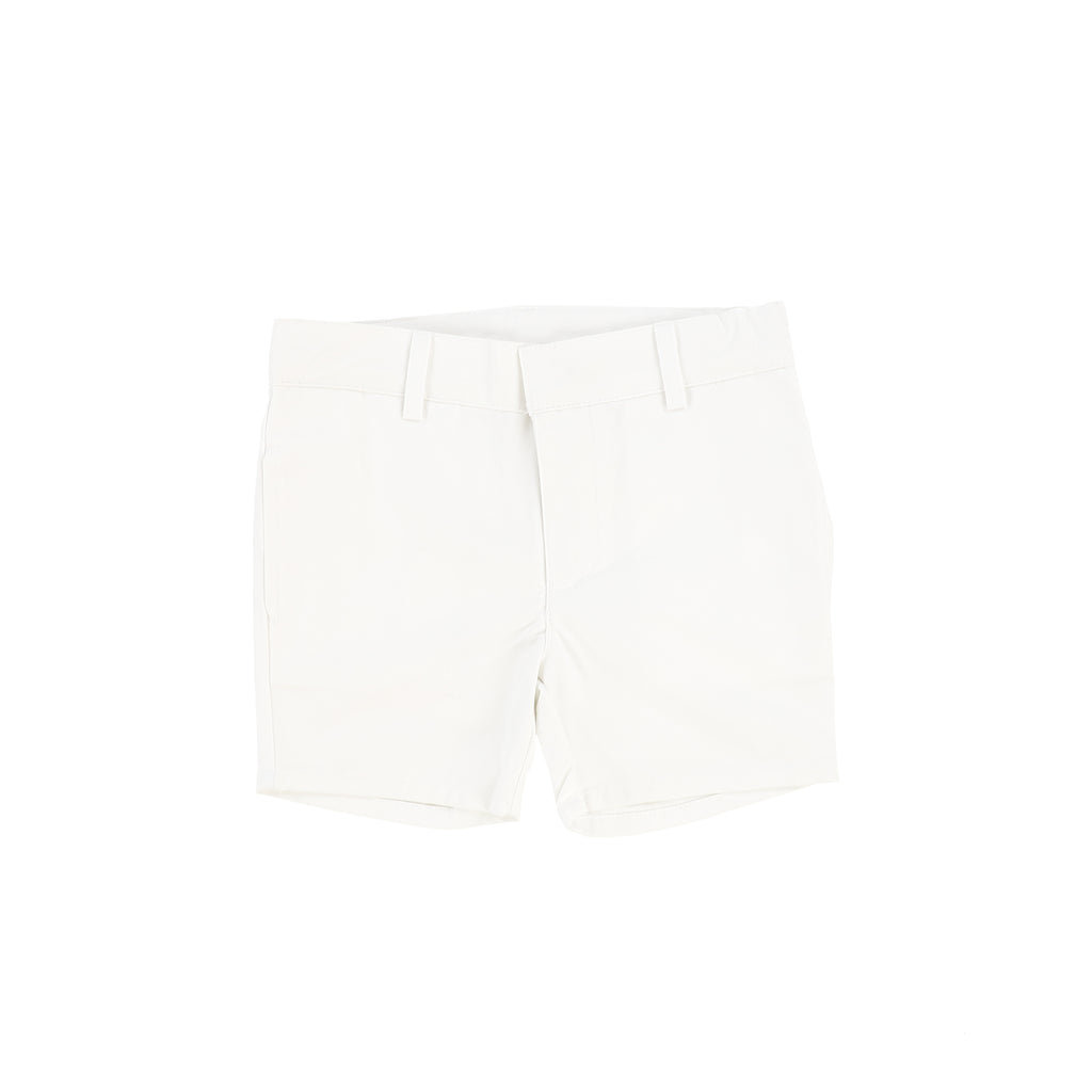 Lil Legs Pure White Cotton Shorts