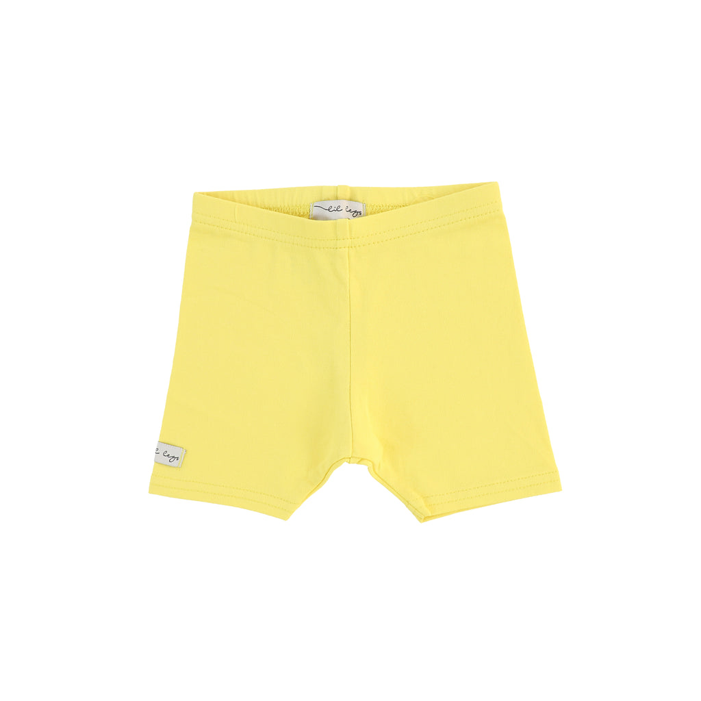 Lil Legs Yellow Short Leggings