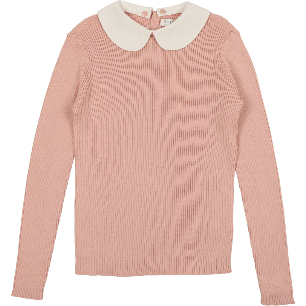 Coco Blanc Mauve Peter Pan Sweater