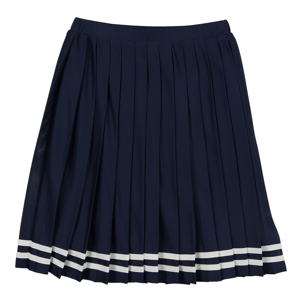 Coco Blanc Navy Tennis Pleated Skirt