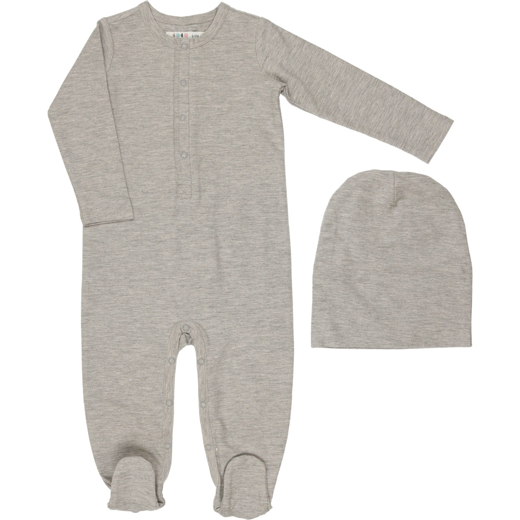 Coco Blanc French Terry Grey Onesie