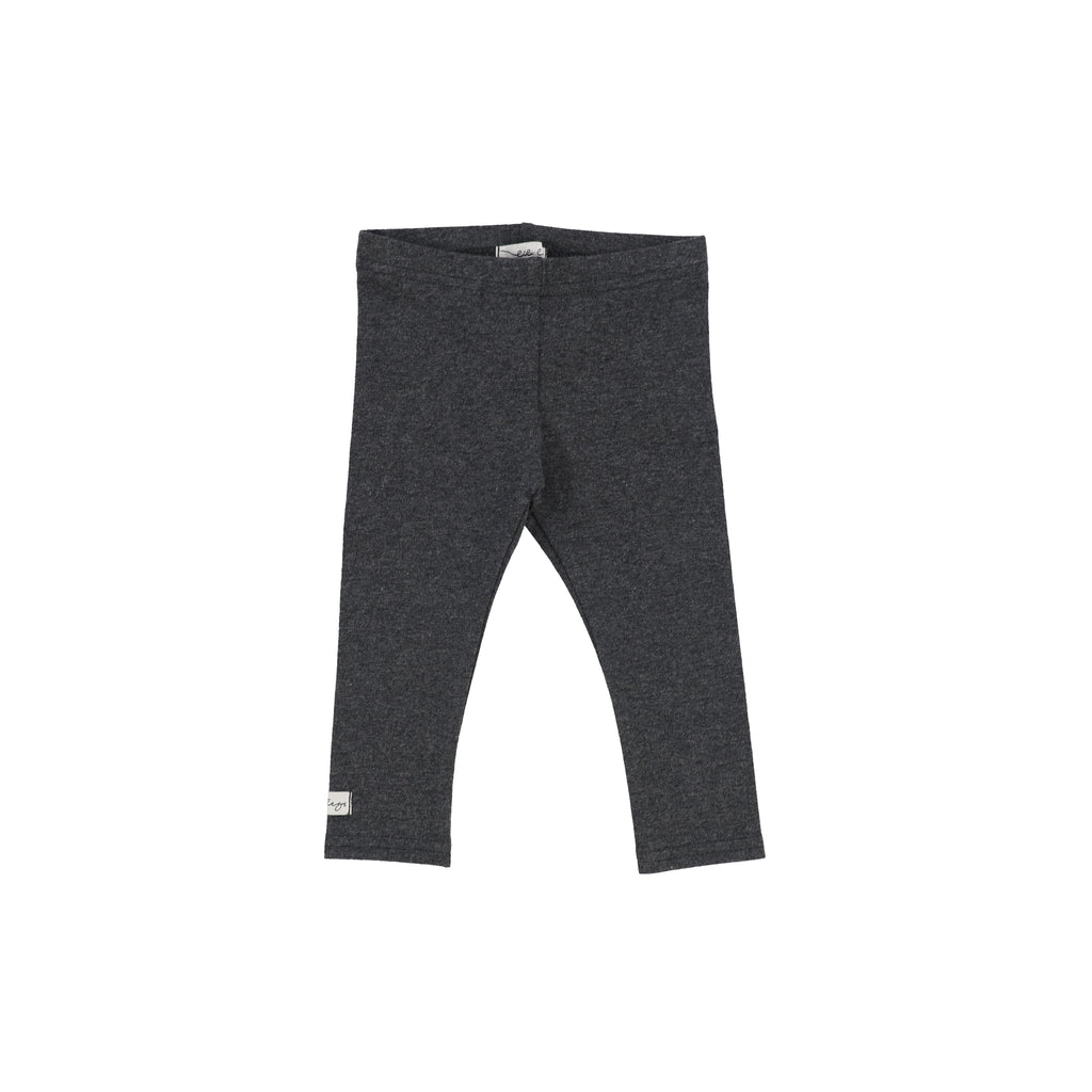 Lil Legs Dark Heather Long Leggings