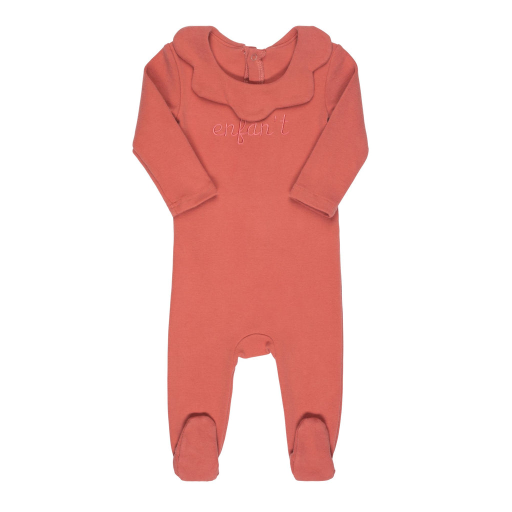 Bon Rever Deep Rose Enfant Footie